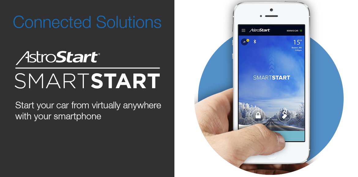 Autostart SmartStart - Start your car from virtually anywhere with your smartphone