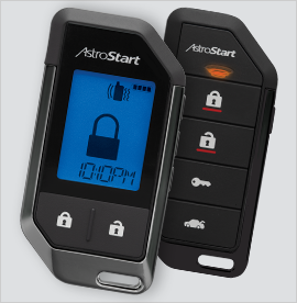 AstroStart Elite Series 2-Way LCD Remote Start and Security System - Model RSS-5325